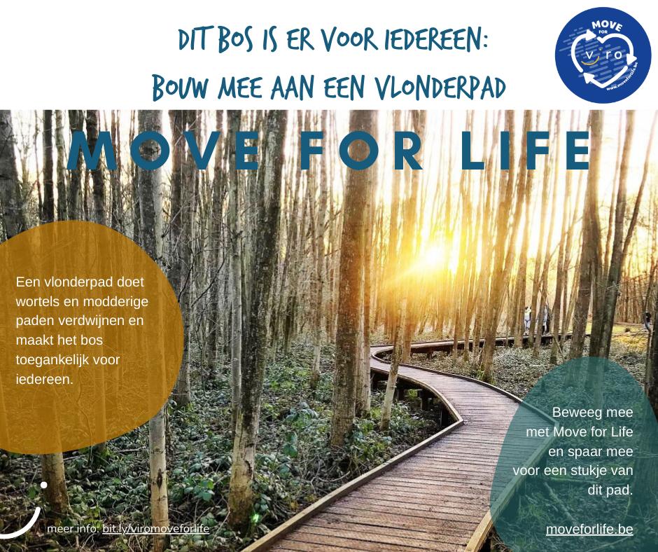 Steun Viro en doe mee aan Move for Life!