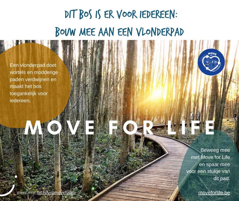 Move for Life x Viro vlonderpad